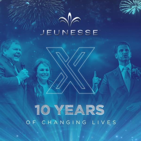 Jeunesse Global 10 YEAR ANNIVERSARY 2019